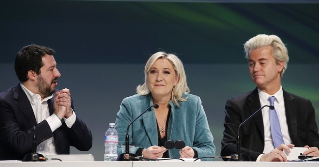 European nationalists find common ground _ for now