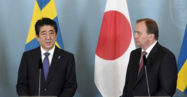 Sweden, Japan condemn NKorean tests, pledge closer ties