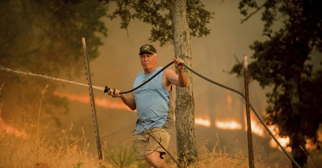 Hell and high water: Northern California is besieged again