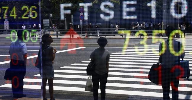 Asian stocks higher following Wall Street gains