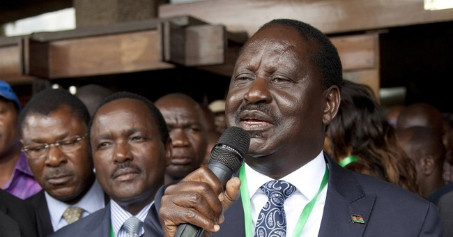 Kenya opposition leader briefly hospitalized for dehydration