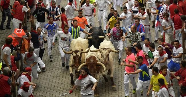 Spain's running of the bulls: No gorings on Day 3
