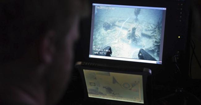 Bones found near wreckage of US bomber in Croatia
