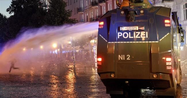 German minister seeks more EU cooperation after G-20 riots