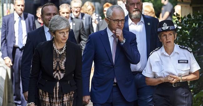 UK, Australian leaders visit site of Borough Market attack