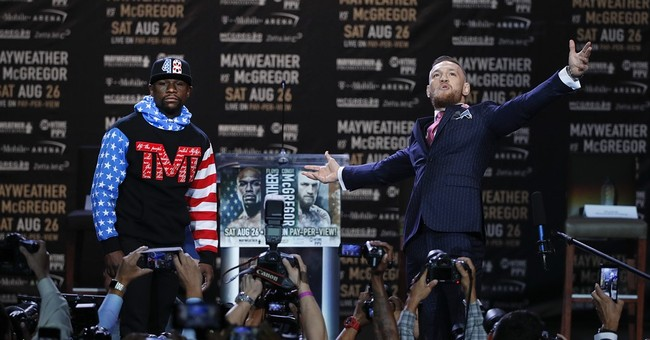 Mayweather-McGregor promo tour gets off to frenzied start