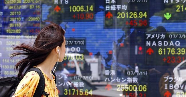 Global stocks mixed ahead of Yellen testimony