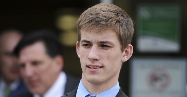 The Latest: Frat members push back in pledge death case