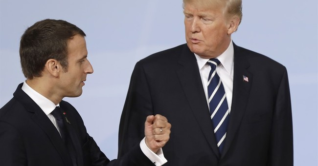 Trump storms Paris for Bastille Day