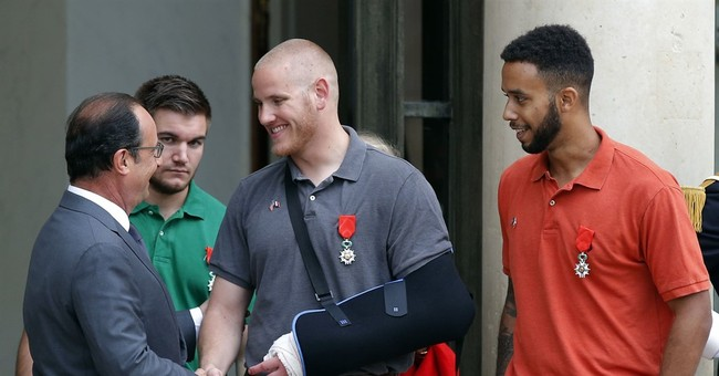 Men who stopped train attack to star in Clint Eastwood film