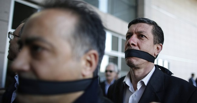 Media crackdown silencing criticism of Turkish government