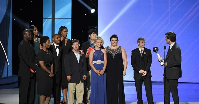 Michelle Obama earns loud ovation from athletes at The ESPYS