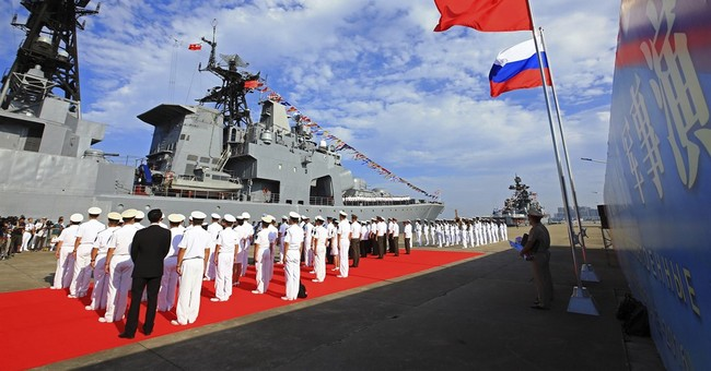 Chinese warships conduct live-fire drills in Mediterranean