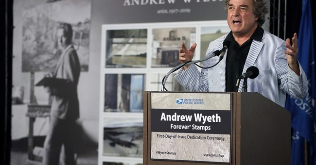 Postage stamps commemorate centennial of artist Andrew Wyeth