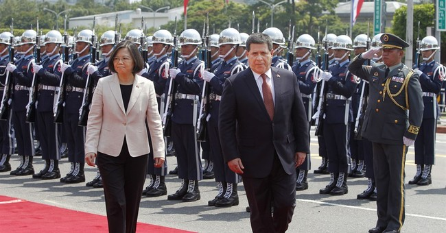 Paraguay president's visit throws Taiwan diplomatic lifeline