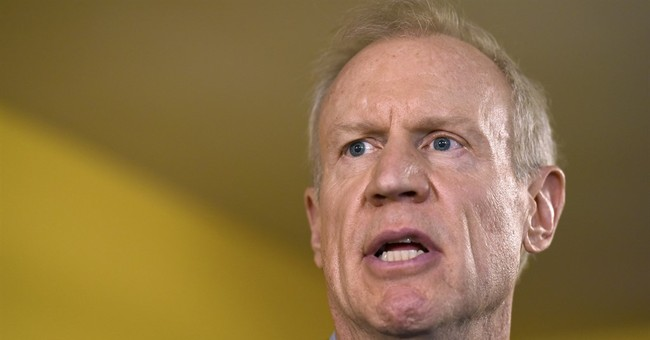 Illinois GOP governor tacks right after major budget defeat