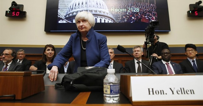 Yellen says Fed watching slowdown in inflation