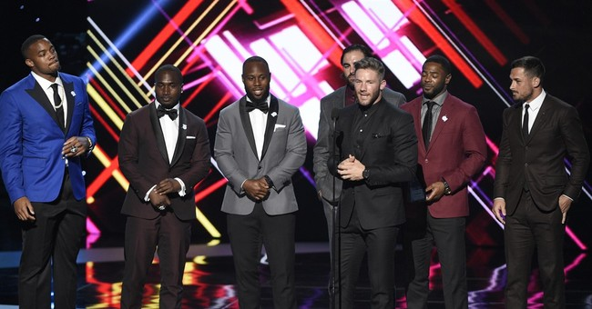 Westbrook, Biles win athlete of year honors at The ESPYS