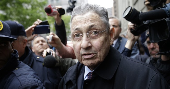 Conviction of ex-NY Assembly speaker tossed; retrial sought