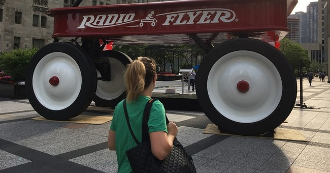 Radio Flyer rolls into Chicago to celebrate 100 years