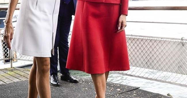 US, French first ladies visit Paris, celebrate French style
