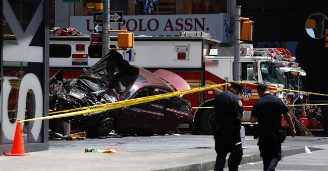 Suspect in deadly Times Square crash pleads not guilty