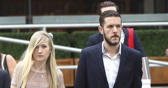 The Latest: Charlie Gard's parents storm out of UK court