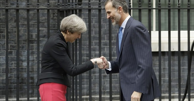 Gibraltar not on agenda as Spain's king, UK's May hold talks