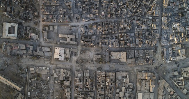 AP PHOTOS: Drone captures Mosul's destruction from above