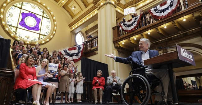 Texas Gov. Abbott begins re-election bid with no rivals yet