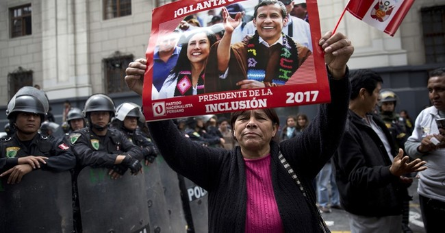 Peru's ex-president sent to same jail as nemesis Fujimori