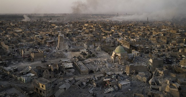 Liberation from militants leaves devastation in Mosul