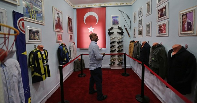 AP PHOTOS: Father's museum honors son killed in Turkey coup