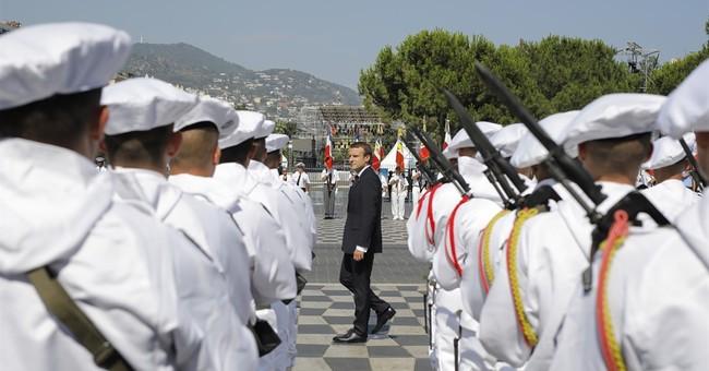 Bastille Day: Macron vows merciless fight against terror