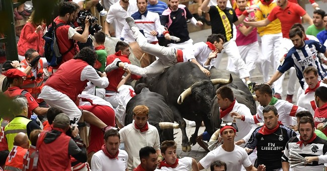 Spain's running of the bulls: 13 injured on final day