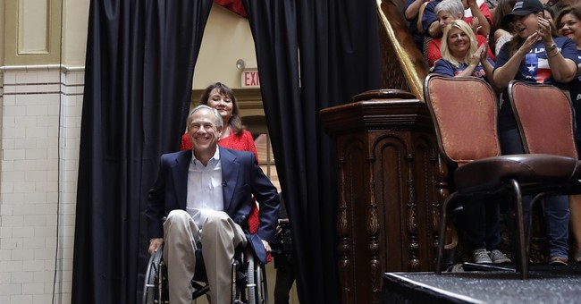 Texas Gov. Abbott begins re-election bid with no rivals yet