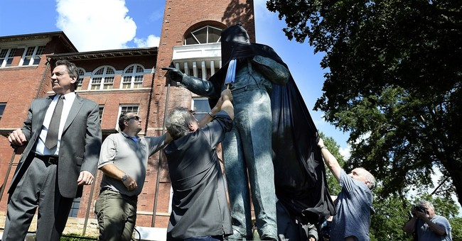 Statue of 'Scopes monkey trial' evolution backer unveiled
