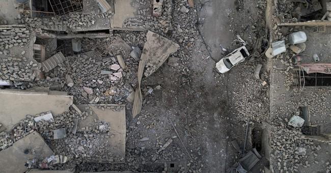 AP PHOTOS: Drone captures Mosul's destruction from above