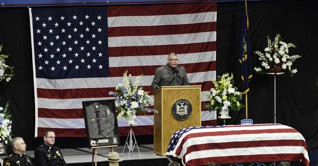 Slain NY trooper remembered as a hero who ran toward danger