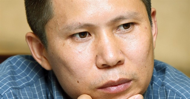 Chinese legal activist released at end of 4-year prison term