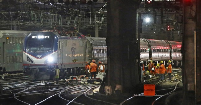 Crews a no-show for some trains amid Penn Station repairs