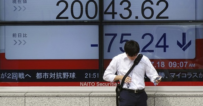 Asian stocks sink as US politics weigh on market outlook