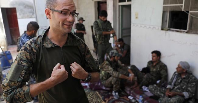US, British volunteers battle IS in Syria's Raqqa