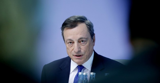 European Central Bank's Draghi cagey on stimulus exit