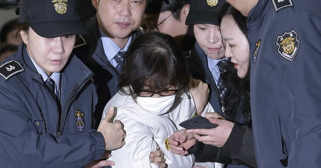 Daughter of woman in South Korea scandal arrested in Denmark