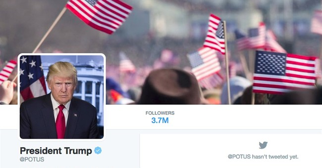 Trump gets Obama's house, title _ even his Twitter handle