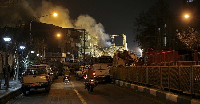 Many still missing at site of deadly Iran building collapse