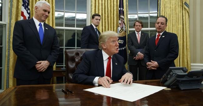 Trump executive order first strike at ending 'Obamacare'