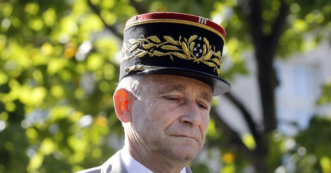 The Latest: Lecointre to be France's top military official