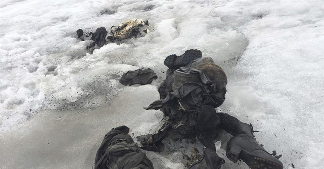 Swiss identify glacier bodies as couple missing since 1942